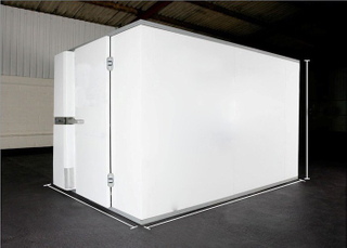 Prefabricated Modular Assembly Cold Room Galvanized Steel Plate with PU Composite Sandwich Panel,Cold Room