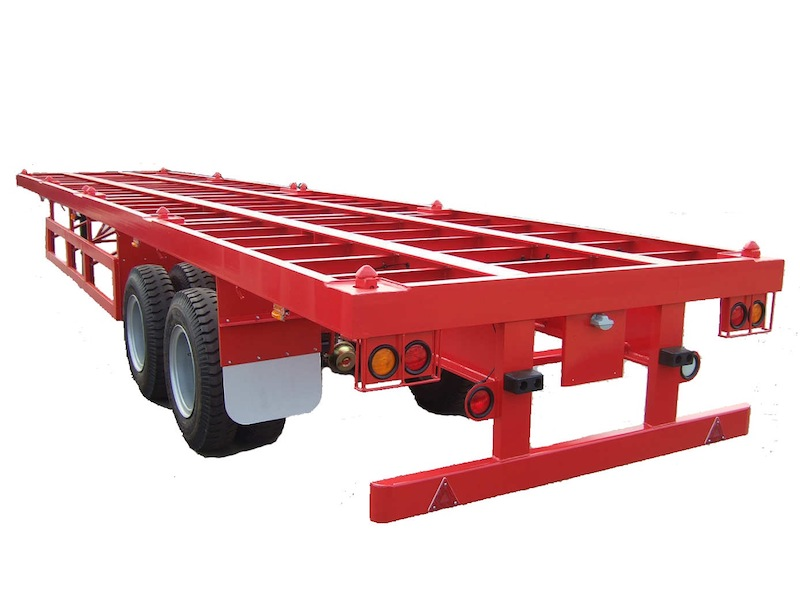 40ft freight saving FlatBed Semi Trailer