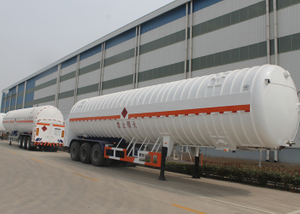 53000L LNG Energy Tank Semi Trailer with 3 Axles for Liquid Natural Gas,LNG Tanker Semi Trailer
