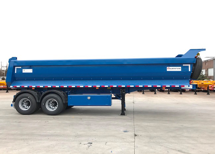 20cbm U type hydraulic Tipper Dump Semi Trailer with 2 Axles and HYVA dumper for mine and construction material, Dump Semi Trailer,Tipper