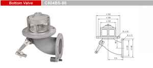 Bottom Valves-Emergency Valves-GET C804BS-80