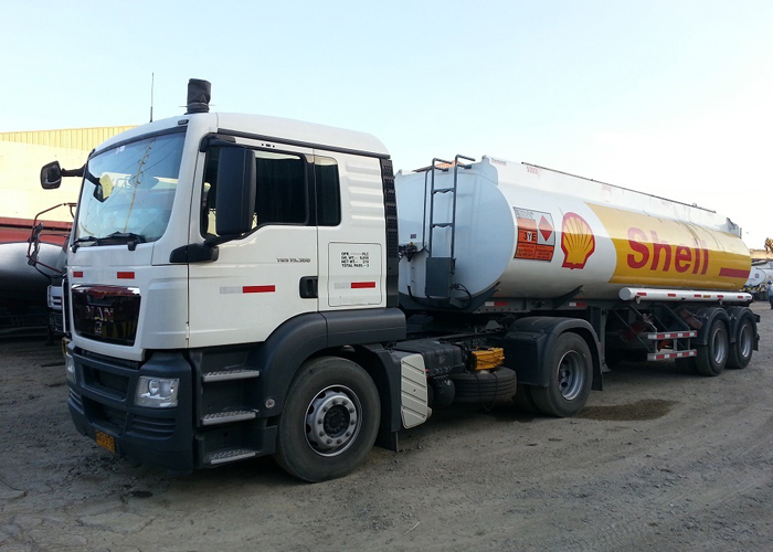 28000L Carbon Steel Tanker Semi Trailer with 2 Axles for Fuel And Diesel Transit in Downtown,Refuel Carbon Steel Tanker Trailer