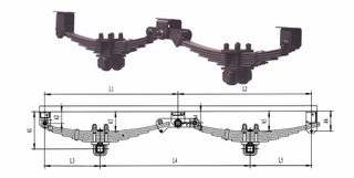 Agricultural Trailer Suspension