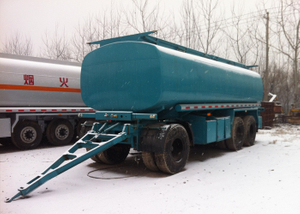 25000L Carbon Steel Draw Bar Tanker Trailer with 3 axles for Fuel or Diesel Liquid,Refuel Carbon Steel Tanker Trailer