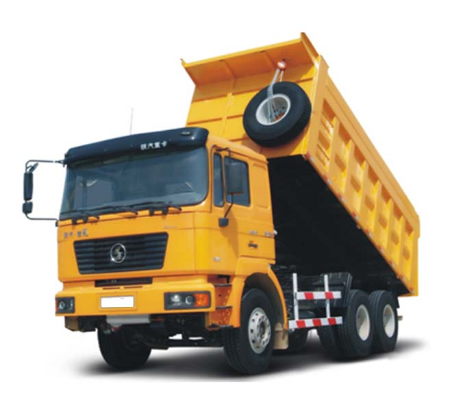 SHACMAN Dump Truck 6x6 LHD 380HP Engine