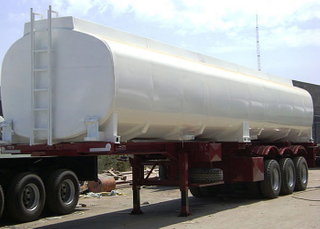 40000L Carbon Steel Monoblock Tanker Worked with Skeleton Trailers,Refuel Carbon Steel Tanker Trailer