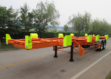 40ft Terminal Container Chassis with 2 Axles for Container Transit in Terminal Port,Container Chassis