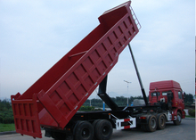 30 cbm Dump Semi Trailer with 2 BPW axles and hydraulic dumper for mine and construction material, Dump Semi Trailer,Tipper