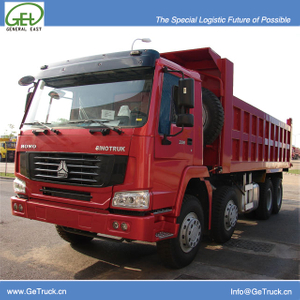 ZZ3317S3867-SINOTRUK HOWO Tipper Truck with 336 HP Engine and 23 cbm Rear Hydraulic Box and 1 sleeping bed