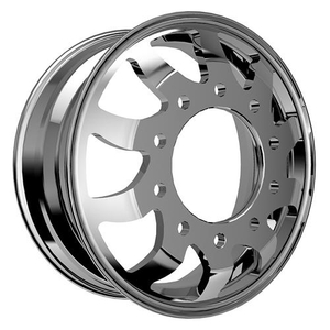 Forged aluminum wheel For Heavy Cargo Trucks_GETHT605_22.5x8.25