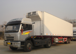 40 foot 2 axles Refrigerated Truck trailer with Carrier Refrigerator units for freezing and fresh cargos,Refrigerator Trailers
