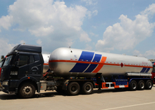 51000L Liquefied Petroleum Gas Lorry Tank Semi Trailer with 3 Axles for LPG