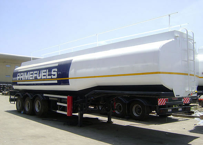 45000L Carbon Steel Tanker Semi Trailer with 3 Axles for Fuel Or Diesel Liquid ,Refuel Carbon Steel Tanker Trailer