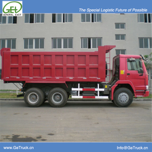 ZZ3257N3647B-SINOTRUK HOWO Tipper Truck with 336 HP Engine and 19 cbm Rear Hydraulic Box