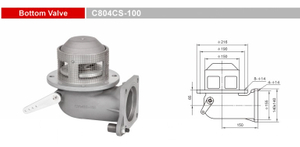 Bottom Valves-Emergency Valves-GET C804CS-100