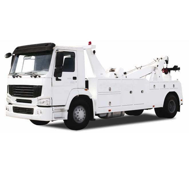 SHACMAN Middle-duty S Series Road Wrecker