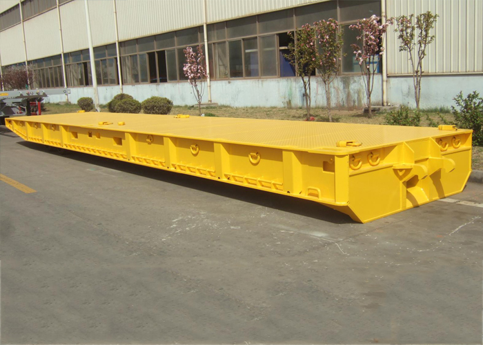 60 Feet Roller Trailer Mafi Trailer for 80T Capacity